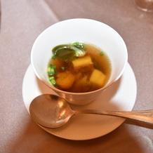 名古屋コーチンのスープ