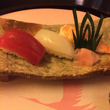 お寿司美味しかったです