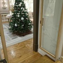 クリスマス前なのでツリー