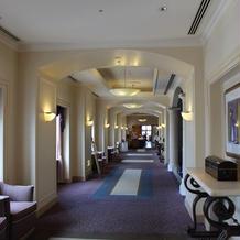 会場前の廊下の雰囲気