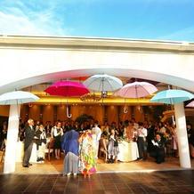 色とりどりの傘