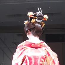 和装の髪型、飾り