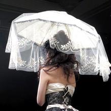 傘のコーディネート