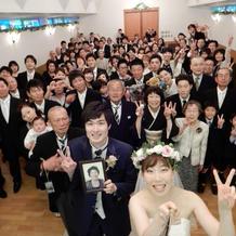 結婚承認の写真撮影