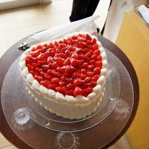 忘れられないウエディングケーキ