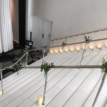 スカイチャペルの階段