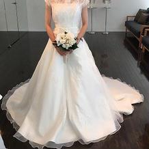 ドレス前1
