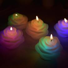 7色に光るマジックキャンドル