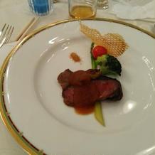 1.65万円コースにて~肉料理~