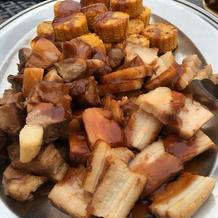 豚肉とトウモロコシ