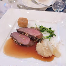シャラン産鴨胸肉のロースト