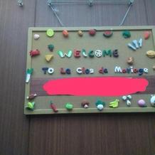 休日はエレベーター内も飾り付け出来ます。