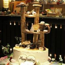 キャットタワーのウェディングケーキ!