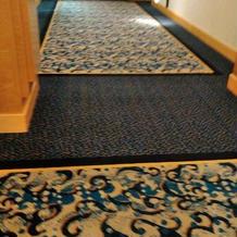 会場に続く廊下です。