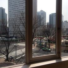 窓からの眺めも素敵です