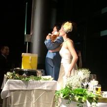 ビール飲み合い!