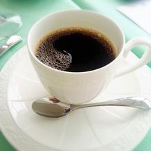 食後のコーヒーも美味しかった!