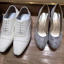 本番前の靴