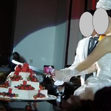 ケーキカット(二回目)