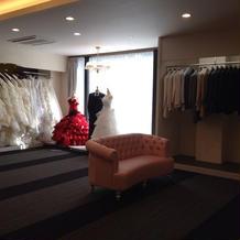 衣装室です