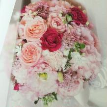 お花も希望通りです