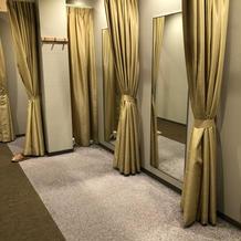 ゲストの着替え室です。