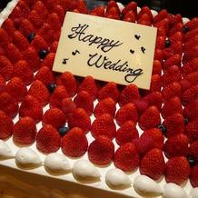 とっても素敵なケーキ