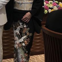 新郎母の留袖