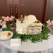 ウェディングフェア ケーキ