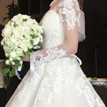 とても素敵なドレスでした