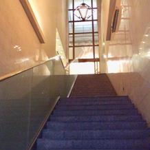 入り口大階段