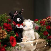装花+ウェルカムドール
