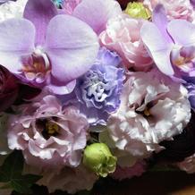装花はセット内なのに豪華でした