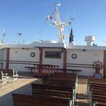 船の上のチャペル