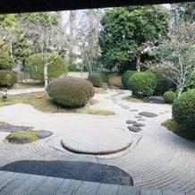 はなれの、庭園
