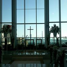 挙式会場からの景色