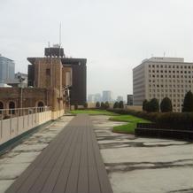 屋上。ここで記念撮影も可。