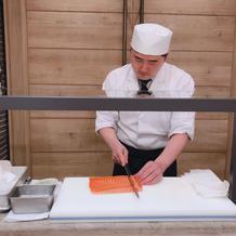 お寿司バー