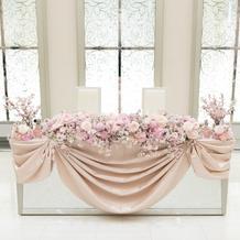 プラン料金で充実の装花
