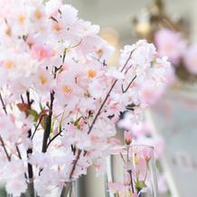 装花は造花の持ち込みOK