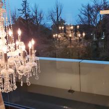チャペル窓からの眺め