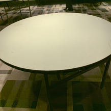 会場のベーシックな机