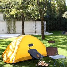 ウェルカムグッズのキャンプ道具