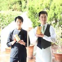 日本茶をお茶の時間に使用しました
