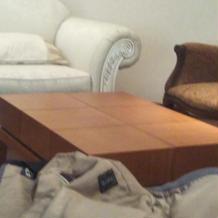 打ち合わせの椅子はソファーでゆったりと