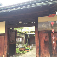 入り口です。京都の街中にあります。