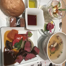 コース料理試食