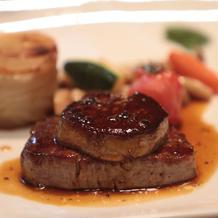 お肉のメイン料理 ロッシーニ おすすめ