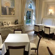 1階のレストラン(待合室)