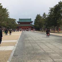 平安神宮への道